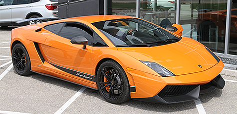 2010 Lamborghini Gallardo Superleggera LP-570 at Nott Autocorp in Winnipeg