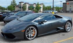 Lamborghini Huracan spotted in Grant Park