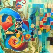 Ashleigh Dawn Wiebe - Emotions - 36x48