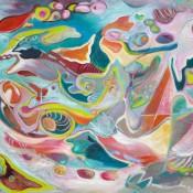 Ashleigh Dawn Wiebe - Surfacing - 36x48