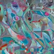 Ashleigh Dawn Wiebe - Tidal Sway - 36x48