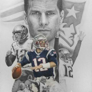 Reymond Page - Tom Brady 12