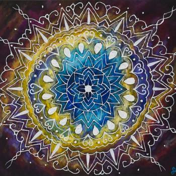 Sari Habiluk - God's Eye Mandala