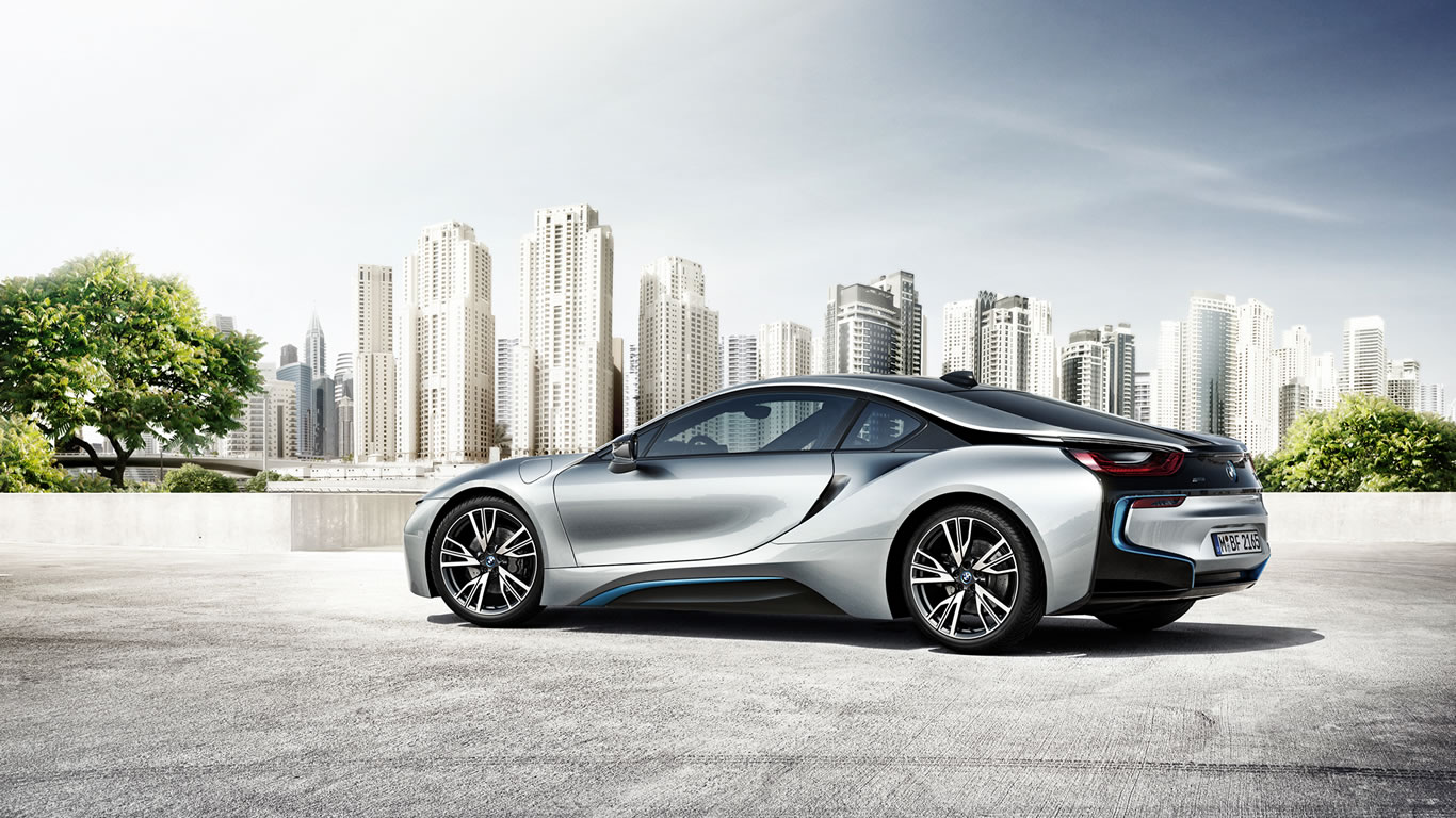 BMW i8 City Photo