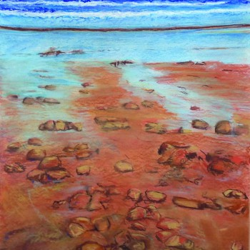 Patricia Anne Best - Rocky Red Beach