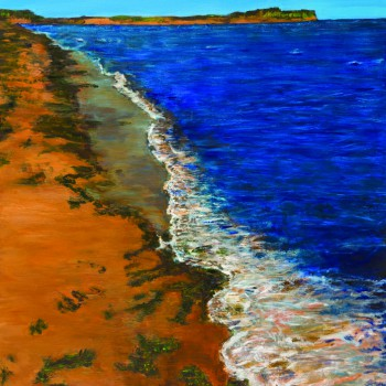 Patricia Anne Best - Surf on Red