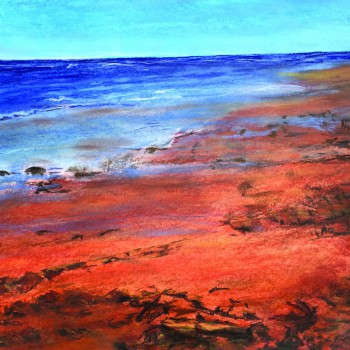Patricia Anne Best - Rocky Red Beach 2