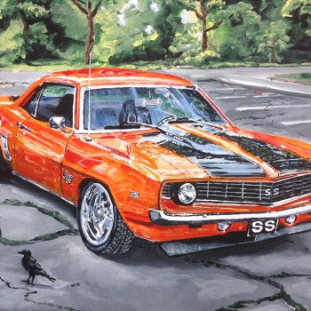 Perry Holmes - Camaro Painted