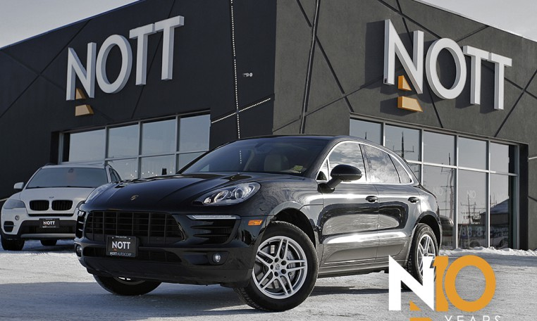 2015 Porsche Macan S For Sale In Winnipeg | One Owner, Navigation, Panoramic Roof, AWD, Turbo V6