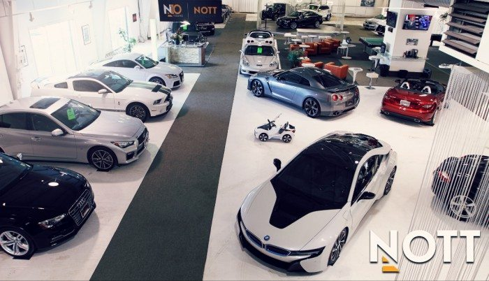 Nott Autocorp Showroom