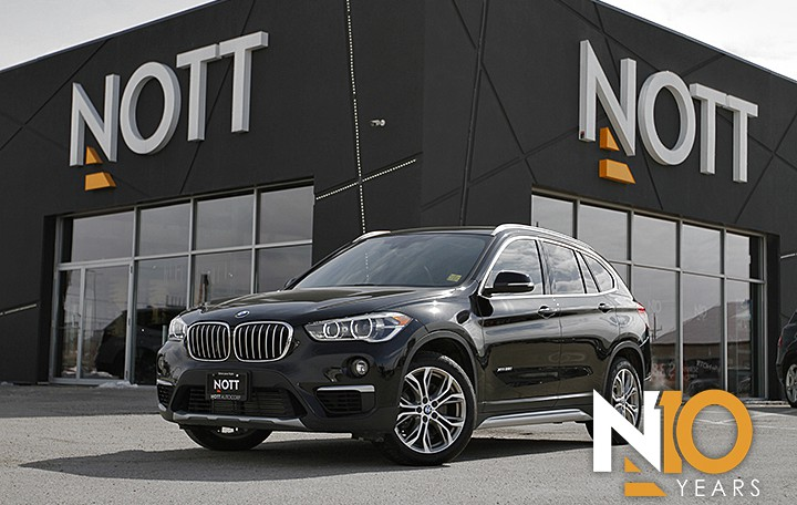 2017 BMW X1 For Sale In Winnipeg | xDrive28i, 1-Owner, Heated Leather, Pano Roof, Backup Cam