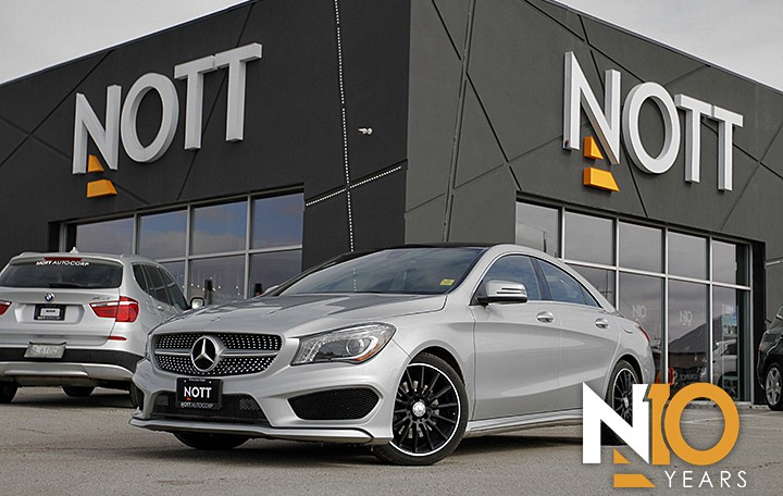 2014 Mercedes-Benz CLA250 For Sale In Winnipeg | Premium, Sport PKG, AMG Style PKG, Nav, Pano Roof, Backup Cam