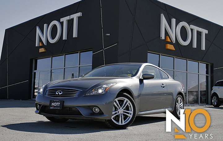 2011 Infiniti G37xS For Sale In Winnipeg | Navigation, Backup Cam, Heated Leather Seats, BOSE, Coupe, AWD