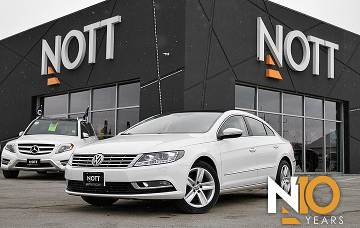 2014 Volkswagen CC 2.0T For Sale In Winnipeg | Heated Leather, Sunroof, Backup Camera, LOW KMS
