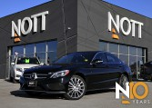 2015 Mercedes-Benz C400 4MATIC For Sale In Winnipeg | Premium PKG, AMG Style PKG, Nav, Pano Roof, Airmatic Air Suspension