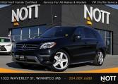 2015 Mercedes-Benz ML350 BlueTEC For Sale In Winnipeg | 4MATIC, Navigation, Panoramic Roof, Backup Camera