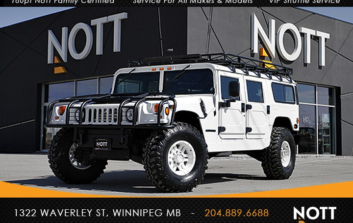 1997 AM General Hummer H1 Wagon For Sale In Winnipeg | 600HP, '07 Duramax, FULLY UPGRADED