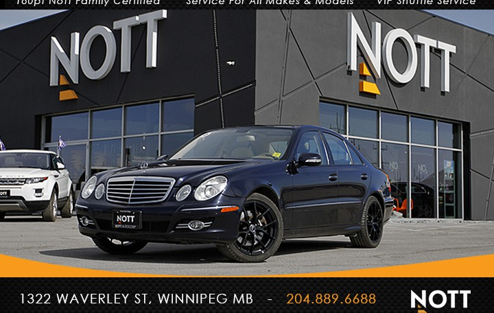 2008 Mercedes-Benz E350 4MATIC For Sale In Winnipeg | AWD, Well-maintained in excellent condition!