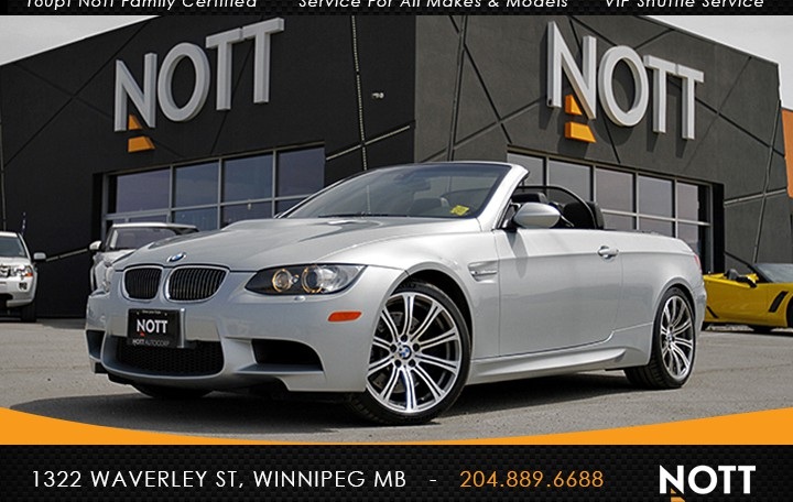 2009 BMW M3 For Sale In Winnipeg | Cabriolet, DCT, Summer Driven, No accidents