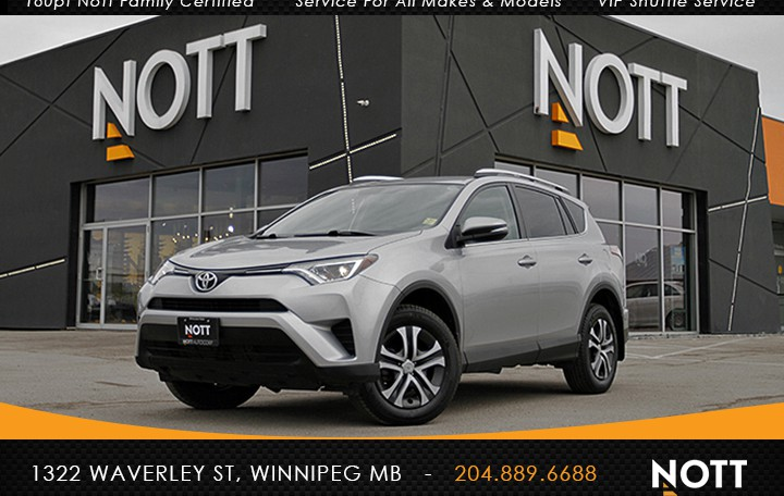 2016 Toyota RAV4 LE For Sale In Winnipeg | One Owner, Backup Camera, Heated Seats, AWD