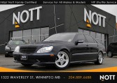 2005 Mercedes-Benz S500V For Sale In Winnipeg | 4Matic, 5.0L V8, Navigation, Sunroof, Heated/Cooled Leather