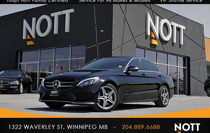 2015 Mercedes-Benz C300 4MATIC For Sale In Winnipeg   AMG PKG, Light PKG, Pano Roof