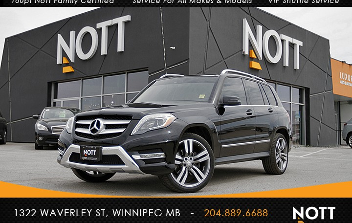 2015 Mercedes-Benz GLK 350W4M For Sale In Winnipeg | One Owner, AMG Style PKG, Navi, Pano Roof