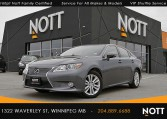 2014 Lexus ES 350 For Sale In Winnipeg | One Owner, Navigation, Moon Roof