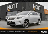 2015 Lexus RX350 For Sale In Winnipeg | Touring with Navigation!