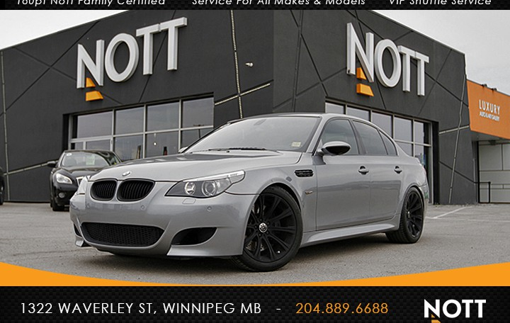2007 BMW M5 For Sale In Winnipeg | 500hp V10 *SMG Gearbox*Navigation*Tastefully Customized and Updated*ONLY 83K!