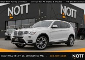 2017 BMW X3 xDrive28i For Sale In Winnipeg | One Owner, Navigation, Pano Roof, Backup Camera