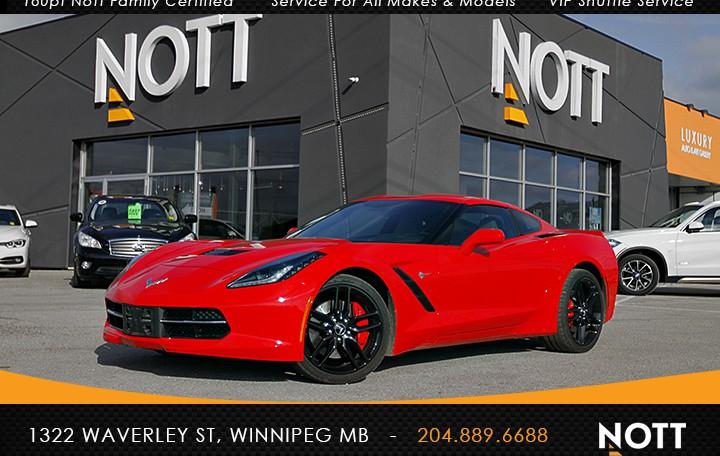 2014 Chevrolet Corvette Stingray | Z51 2LT 1-Owner HUD Navigation Backup Camera BOSE 6.2L V8