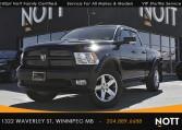 2012 Ram 1500 Sport For Sale In Winnipeg | 4×4, Quad Cab, 5.7L Hemi