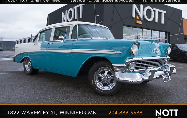 1956 Chevrolet Bel Air For Sale In Winnipeg | Fully Restored Show Room Condition